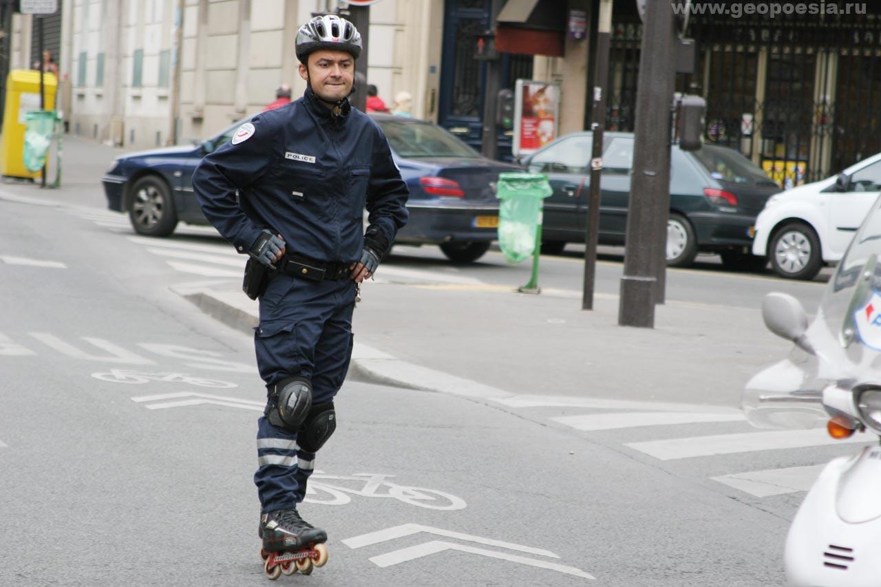 Ролики с полицией 4 фотография