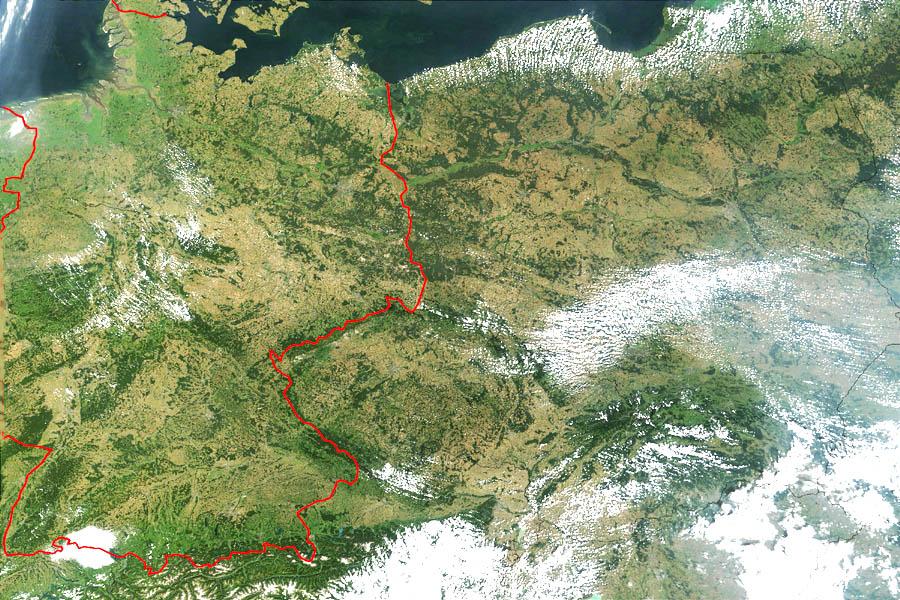 Карта германии map of germany библиотека