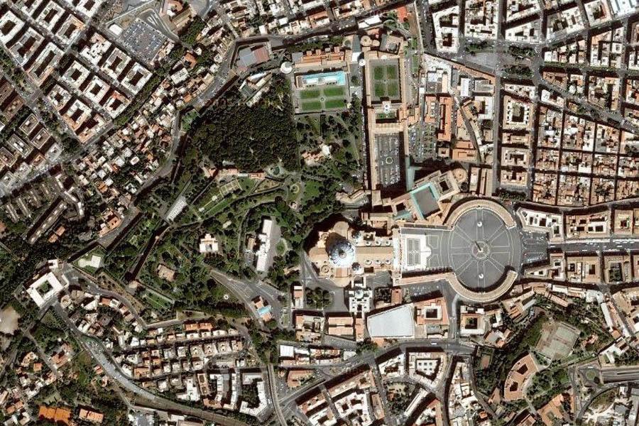 ватикан сверху фото