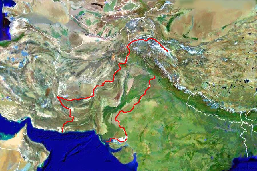 Пакистан на карте мира фото